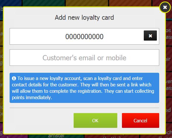 EPoS Customer Sign-Up
